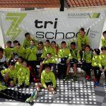 en el triatlón de Cuenca